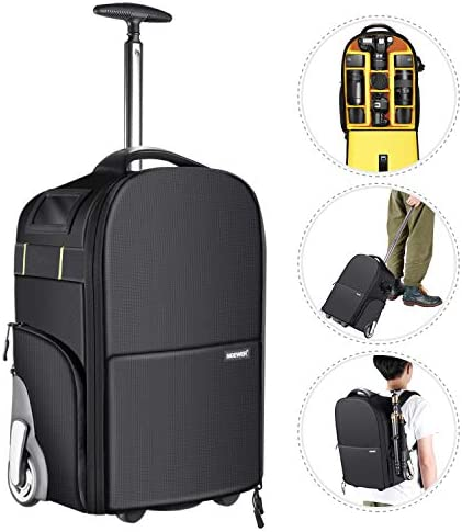 Neewer Wheeled Backpack Luggage Trolley product image