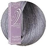 Ion Color Brilliance Neon brights TITANIUM Semi-Permanent Hair Color - 2.05 oz & a Plugged In Kaleidoscopic Brush