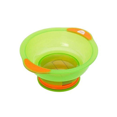 Vital Baby Suction Bowl Unbelievabowl, Orange/Green - Pack of 6