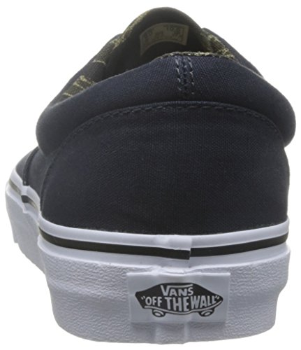 Bestelwagens Heren Vintage Camo Tijdperk Sneaker Vintage Camo / Dark Navy-zwart
