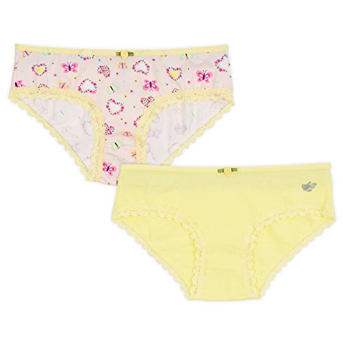 Lucky & Me Ava Little Girls Bikini Underwear, Butterfly Kisses Print, 6 Pack, Tagless, Soft Cotton, 2/3 by Lucky & Me (Image #3)