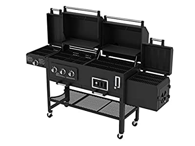 Smoke Hollow 8500 LP Gas/Charcoal Grill with Firebox by Smoke Hollow