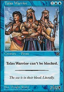 Magic: the Gathering - Talas Warrior - Portal Second Age