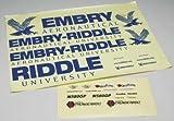 Great Planes Decal Set Embry Riddle/Matt Chapman Eagle 580 46-81 ARF Vehicle Part