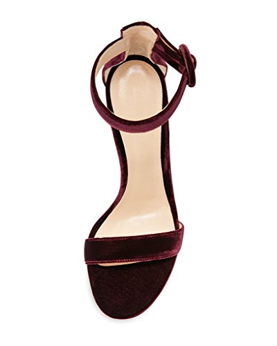 EDEFS - Zapatos con tacón Mujer burdeos