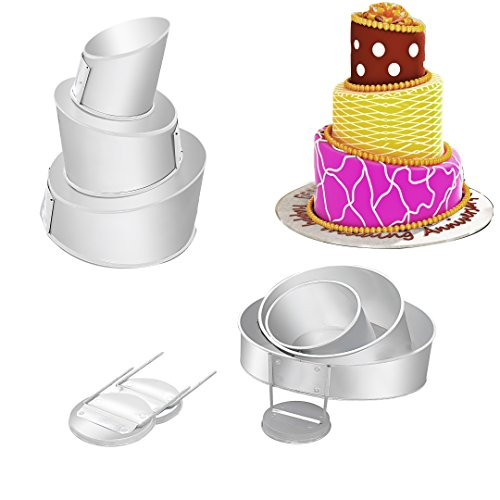 Best Size Cake Tins For  Tier Wedding Cake