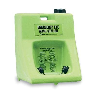 Honeywell 32-000200-0000 Fendall Porta Stream II Portable Eyewash Station, 16 gal Capacity, Lime Green