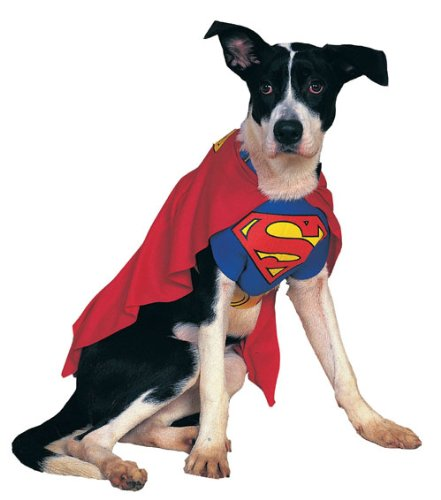 Rubies Costume Co 6133 Superman Pet Costume Size Small