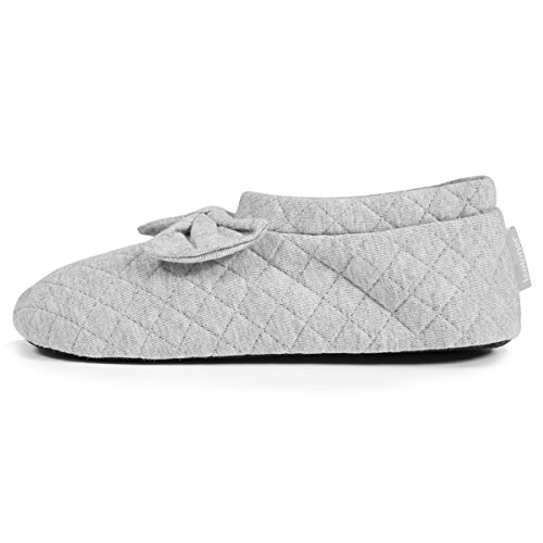 Zapatillas botines para mujer Isotoner Gris
