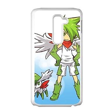 LG G2 shaymin pokemon caja del teléfono celular blanco ISUE6726842864856: Amazon.es: Electrónica