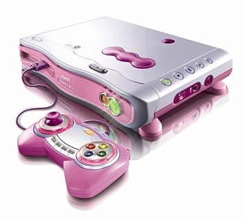 V Smile - Jeu éducatif - Console de jeu - Version pro - rose