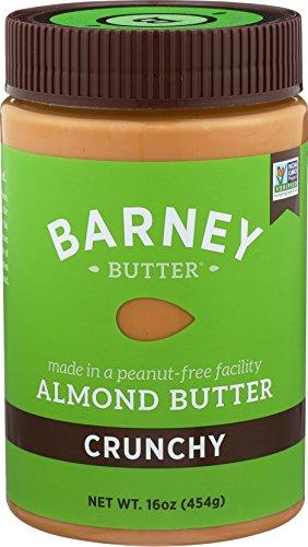 Barney Butter Almond Butter, Crunchy, 16 Ounce