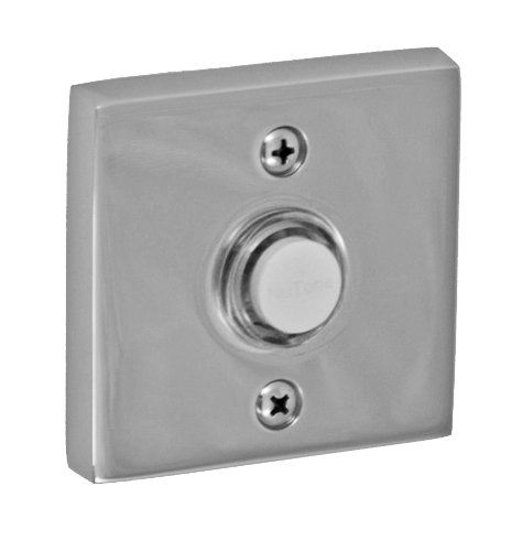 UPC 841248033661, Fusion Hardware BEL-S7-PLC Contemporary Collection Square Doorbell, Polished Chrome, 1-Pack