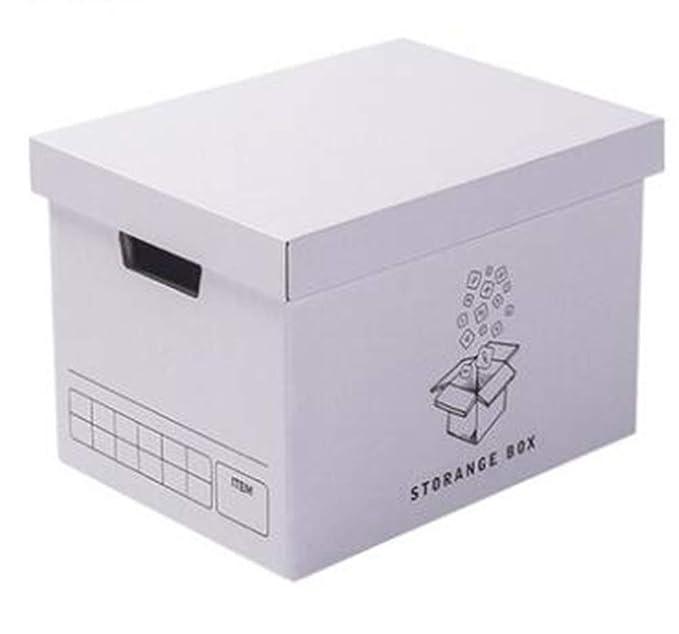 LHY SAVE Pack De 4 Cajas De Mudanza con Asas 380 X 270 X280 ...