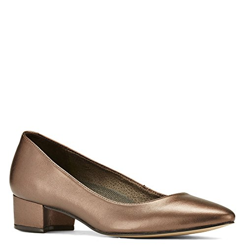 Walking Cradles Women's Heidi Bronze Metallic Leather 9.5 WW US