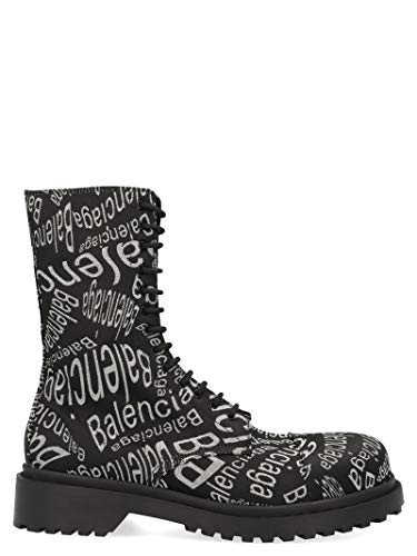 Balenciaga Luxury Fashion Mens 579657W1T501006 Black Ankle Boots | Fall Winter 19