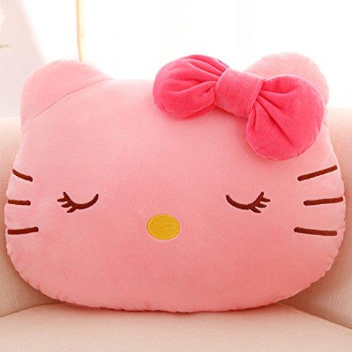 Cute Cartoon Hello Kitty Plush Pillow Car Cushion Nap Pil...