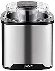 UNOLD 48855 Gelato - Máquina de helado, acero inoxidable, color negro
