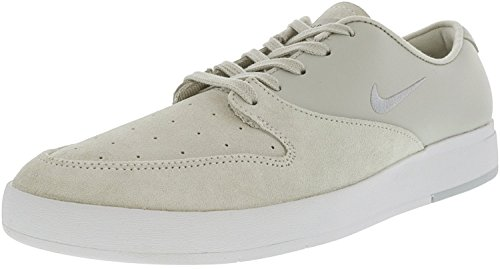 Zoom Leather - NIKE Mens SB Zoom P-Rod X Casual Shoes (9.5 D(M) US, White/Pure Platinum-Black)