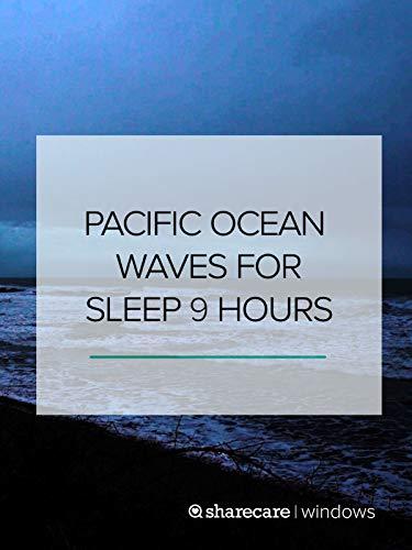 Pacific Ocean Waves for Sleep dark screen 9 hours ()