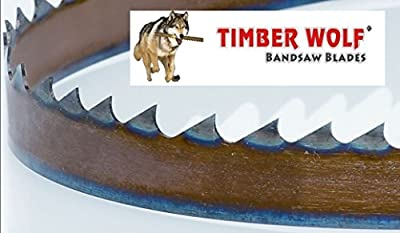 "3423VPC 93.5"" by 3/4"" Timber Wolf Bandsaw Silicone Steel Low Tension Resaw Blade by Timber Wolf"