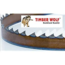 "3423VPC 93.5"" by 3/4"" Timber Wolf Bandsaw Silicone Steel Low Tension Resaw Blade"