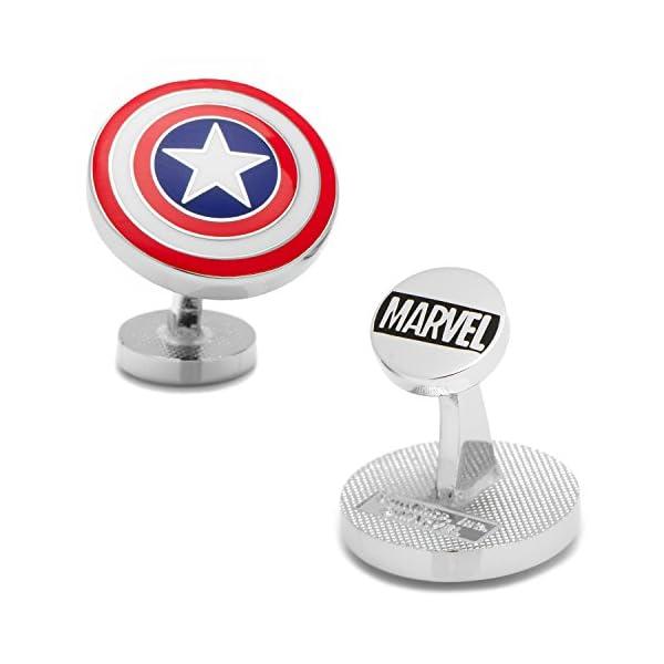 Marvel-Comics-Mens-Captain-America-Shield-Cufflinks