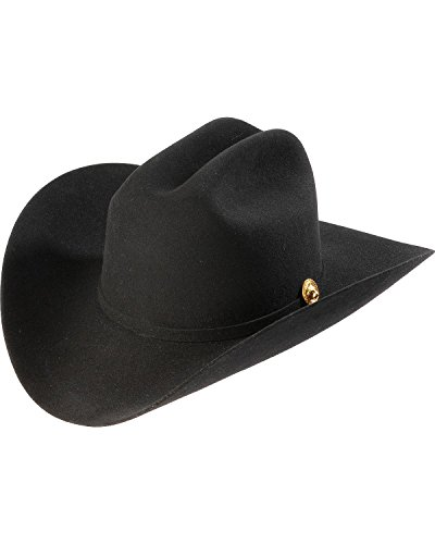 Larry Mahan Los Tigres Del Norte Men's 5X Felt Cowboy Hat Black 7 ()