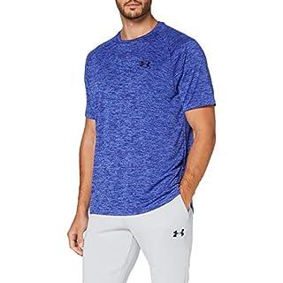 Under Armour Men's Tech 2.0 Short Sleeve T-Shirt , Emotion Blue (403)/Black , X-Large