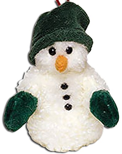 - Boyds Bears Plush WILLIE B. CHILLYMITTS Fabric Snowman Ornament 562654
