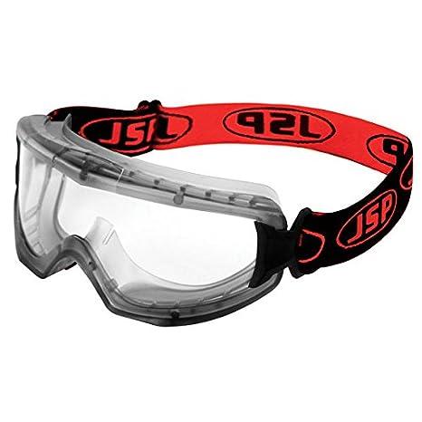 Gafas EVO de JSP AGM020-623-000, gafas de seguridad de ventilación indirecta