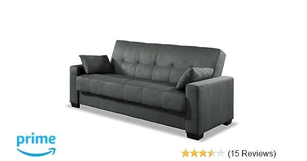 Amazon Com Pearington Mia Microfiber Sofa Sleeper Bed Multi