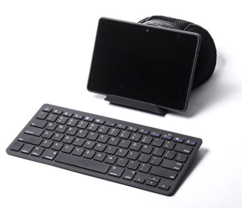 External Bluetooth Keyboard For Android Phone: Bluetooth Keyboard Pwr+ External Slim Wireless Keyboard For Tablet Apple Android Bluetooth