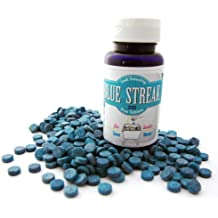 Blue Streak Pro 200 Dye Tablets (Detect Silent Leaks) Bulk in EZ Pour Container | Toilet Tank Leak Detection | Plumbers Friend