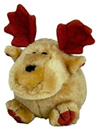 PETMATE 291193 Booda Squatter Moose Toy for Pets, Medium