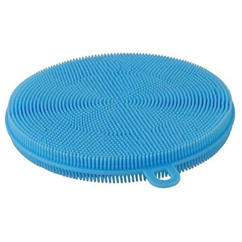 Generic Silicone Washing Scrubber Dishcloth Dish Wash Sponge Reusable Cleaning Tool
