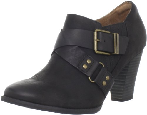 Women's Woodlark Black Oily Heath Leather Ankle Boot Clarks fwq7xPq