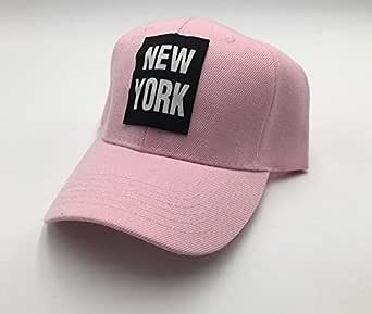 Curved Baseball & Snapback Hat cap pink