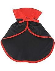 ULTECHNOVO Husdjurstillbehör kattkostym jul husdjurskostymer röd husdjurskappa katt halloween kostym husdjurskläder