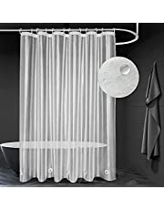 UDRIDAY Frosted Shower Curtain Liner