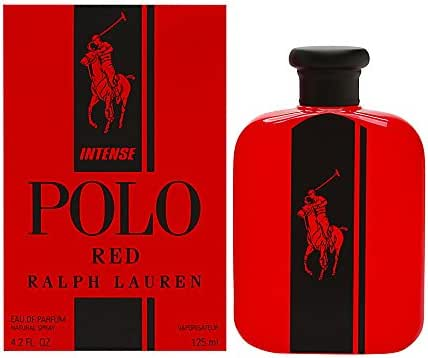 Polo Red Intense by Ralph Lauren for Men 4.2oz Eau de Parfum Spray