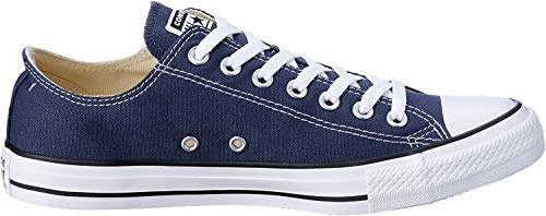 Converse Unisex Chuck Taylor All Star Low Top Navy Sneakers - 17 D(M) US Men