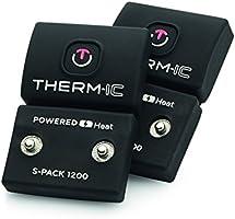 Thermic Powersocks Set Heat Uni + S-Pack 1200, Unisex Adulto, T45-9202-300, Negro, L : 42-44: Amazon.es: Deportes y aire libre