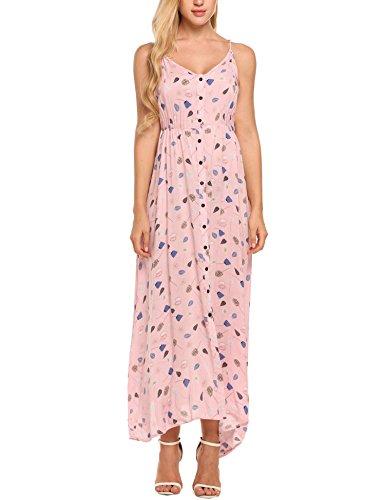 驚食い違い手綱BEYOVE DRESS レディース US サイズ: M カラー: ピンク