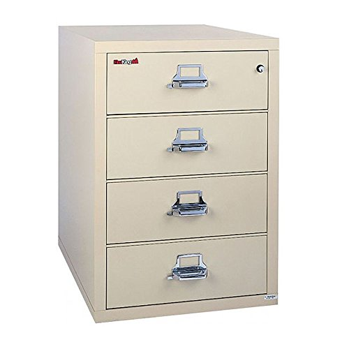 - Fireproof Four Drawer Lateral File - 32
