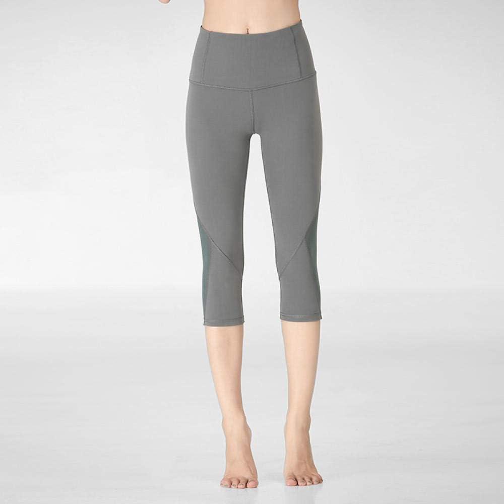 MAIMOMO Pantalones Pirata De Fitness para Mujerpantalones Recortados De Cintura Alta, Pantalones De Yoga De Verano, Pantalones Recortados De Cintura Alta para Mujeres, Caderas Sexys para Gimnasia
