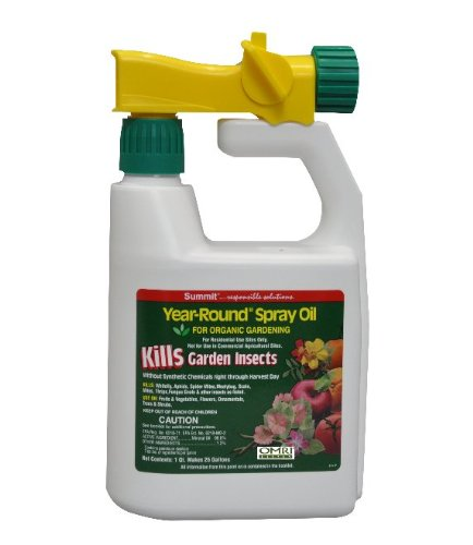 Summit 121-12 Year-Round Spray Oil for Garden Insects Ready-