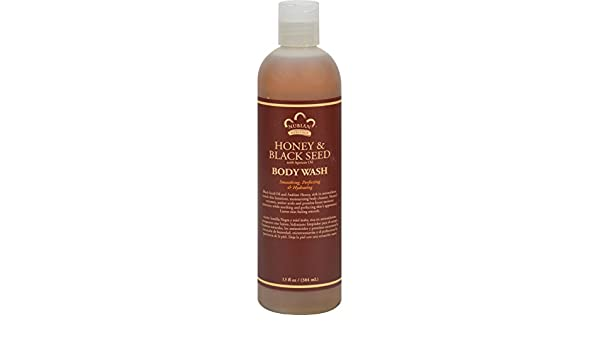 Amazon.com: Nubian Heritage Body Wash Honey And Black Seed - 13 Fl ...