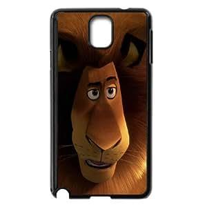 (JVDU) Madagascar Samsung Galaxy Note 3 Cell Phone Case Black