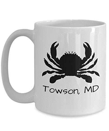 Towson crab mug | Maryland themed gift